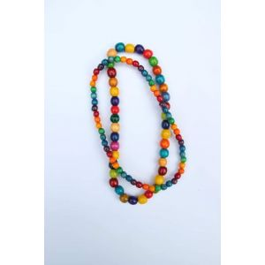 """Beaded necklaces """"Colorful day"""""""