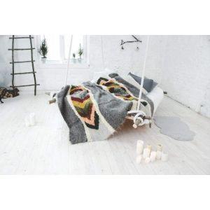 "Best wool blanket ""Colorful pattern"""