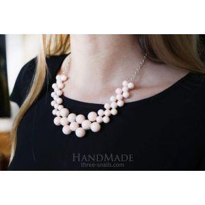 "Bib handmade necklace ""Noa"""