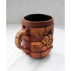"Big coffee mugs""Steampunk"""