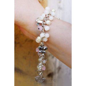 "Boho chic bracelets. Beaded Boho bracelet ""Love"""