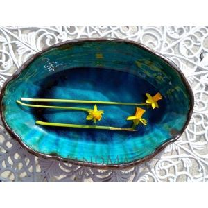 "Bowl ""Turquoise of the heavens"""