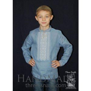 """Boy blue shirt """"Waterblue"""""""