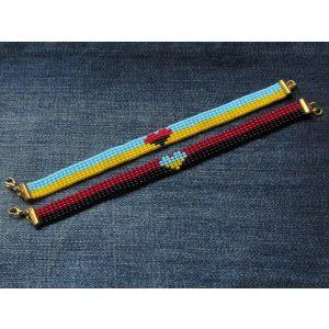 "Bracelets for women ""Ukraine in the heart"""