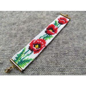 "Bracelets ""Poppies"""