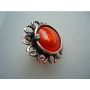 "Cabochon ring ""Undersea world"""