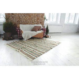 "Carpet rug""Red stripes"""