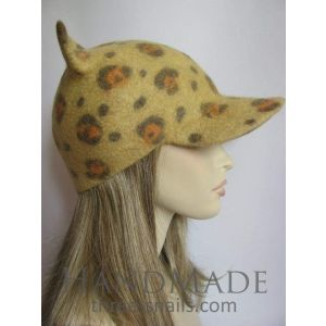"Cat ear hat ""Jaguar"""