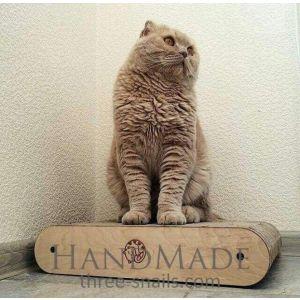 "Cat scratch pad ""Cat satisfaction"""
