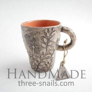 """Ceramic art cup """"Sun in the Cup"""""""