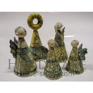 "Ceramic bells ""Angels"""