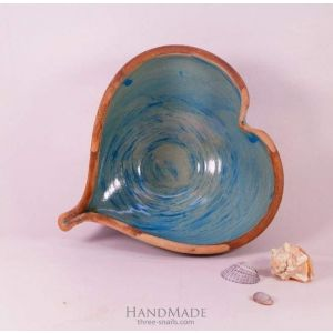 "Ceramic Bowl ""Heart"""