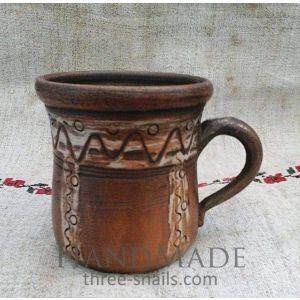 """Ceramic cups """"Fairy wave"""""""