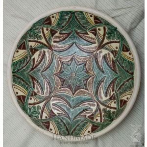 "Ceramic decorative plate ""Birds"""