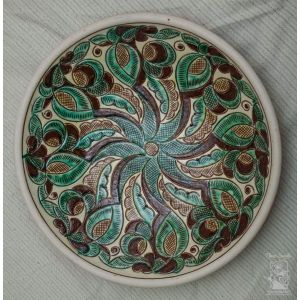 "Ceramic decorative plate ""Cheremosh"""