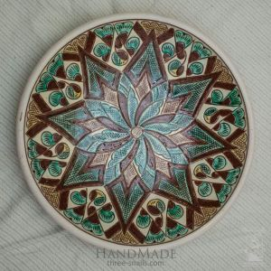"Ceramic decorative plate ""Dandelion"""