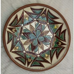 "Ceramic decorative plate ""Halychyna"""