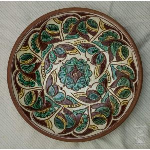 "Ceramic decorative plate ""Horhany"""
