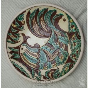 "Ceramic decorative plate ""Horse"""