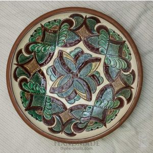 "Ceramic decorative plate ""Kolomyia"""
