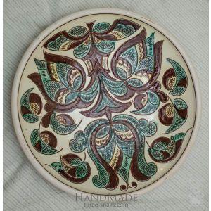 "Ceramic decorative plate ""Trypillia"""