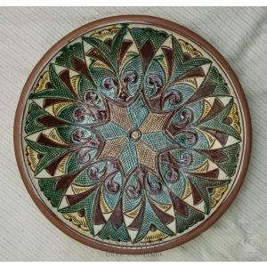 "Ceramic decorative plate ""Verkhovyna"""