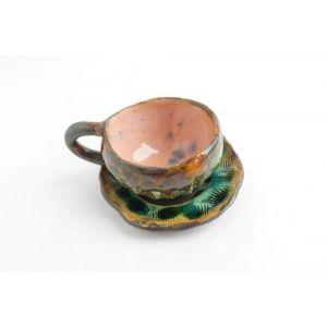 "Ceramic handmade cup ""Sea Dreaming"""