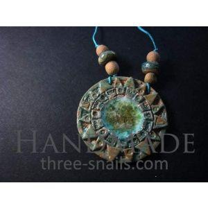 """Ceramic pendant """"Yarilo"""""""