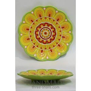 """Ceramic plate """"Marigold"""""""