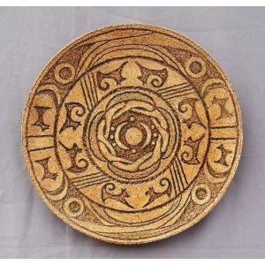 """Ceramic plate """"Trypillian calendar"""""""