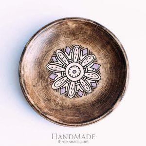 "Ceramic plates ""Flower"""