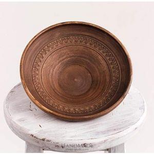 "Ceramic plates ""Grandmother's concern"""