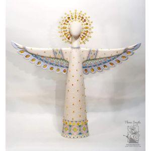 "Ceramic sculpture ""Christmas Angel"""