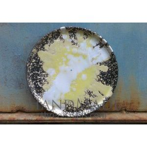 "Ceramic serving dish ""Sun rays"""