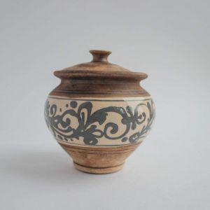 "Ceramic sugar bowl ""Rustic"""