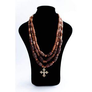 "Charm necklace ""Dark night"""