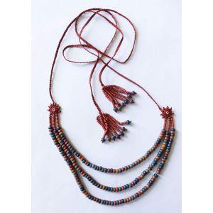 "Charm necklace ""Multicilored jam"""