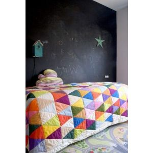 Childrens patchwork quilt