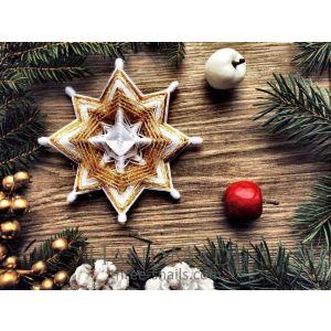 "Christmas decoration ""Golden star"""