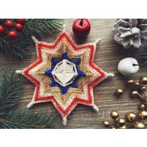"Christmas decoration ""Holy star"""