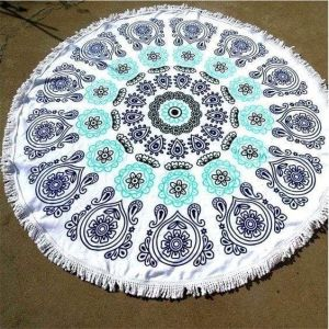 Circle beach towel