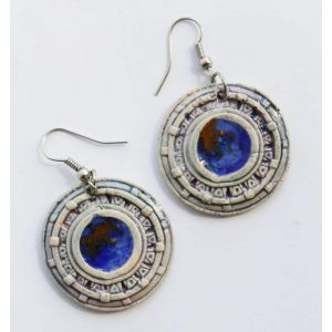 "Clay earrings ""Solaris"""
