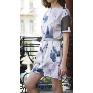 "Cotton dress ""Garden of Eden"""
