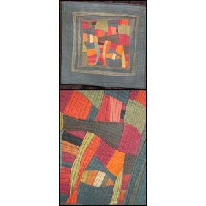 Cotton patchwork blanket