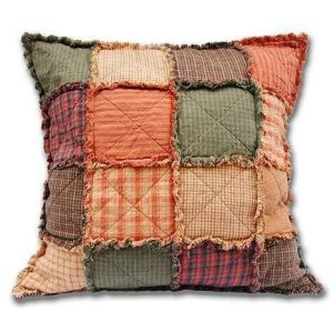 Cotton patchwork pillow case