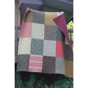 Cotton quilted throw