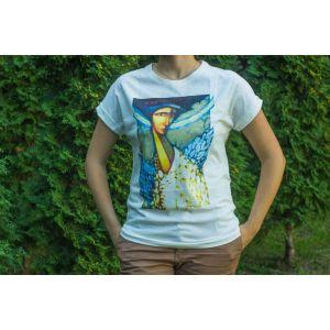 """Cotton T-shirt """"Angel"""" women"""