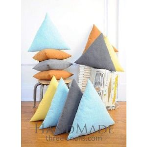 Cotton triangle pillow case
