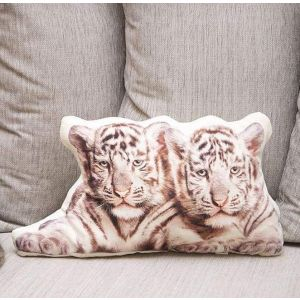 "Couch pillow ""Tigers"""