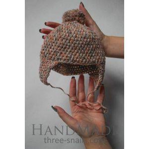 """Crochet baby hats""""Beige harmony"""""""